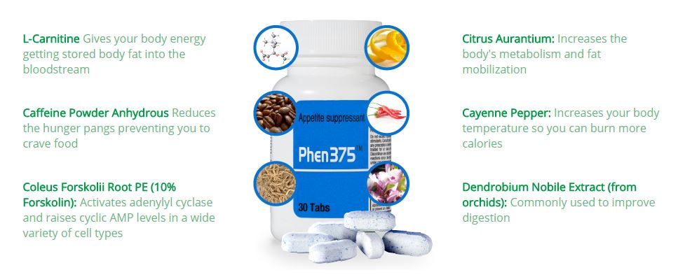 phen375supplement-ingredients