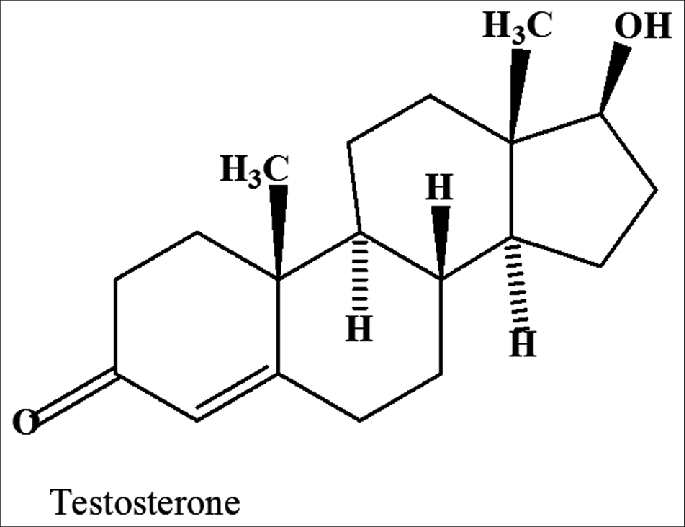 testosterone-chemical-structure
