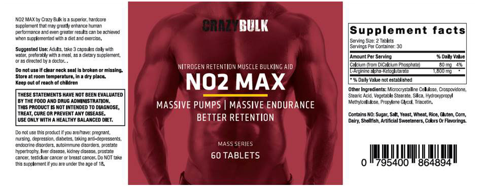 NO2-MAX-ingredients