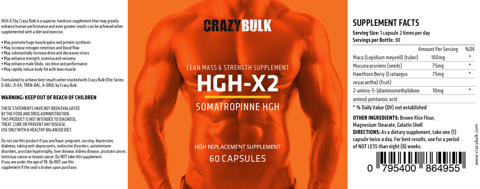 hgh-x2-label