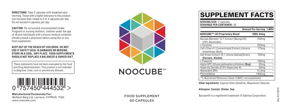 Noocube Review One Of The Best Nootropics In The Market