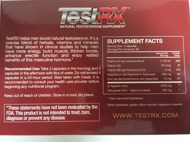 testrx-ingredients