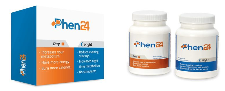 Phen24 | REVIEW | 1 pill – 24 Hour Weight Loss