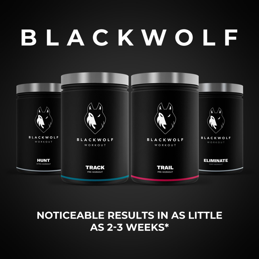 Track Winner: Blackwolf TRACK Pre-Workout