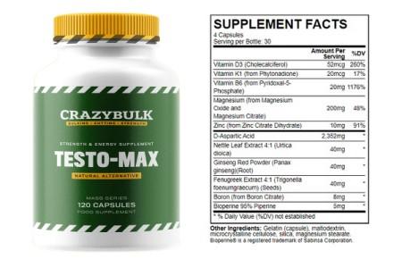 crazybulk-testo-max-ingredients-testosterone